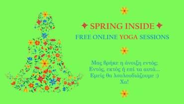 Spring Inside Yoga Sessions