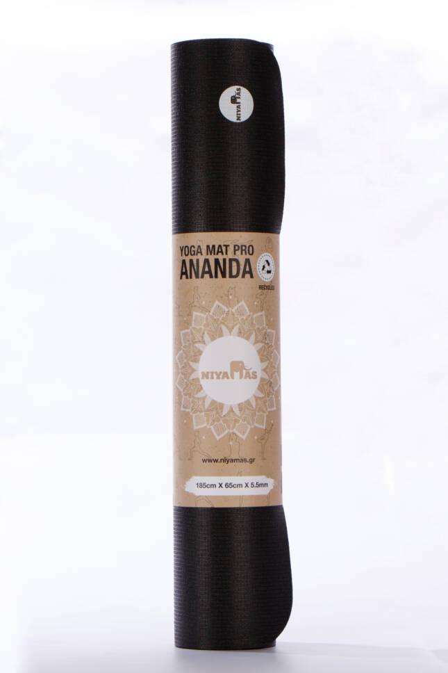 Στρώμα Γιόγκα Niyamas Pro Ananda Black