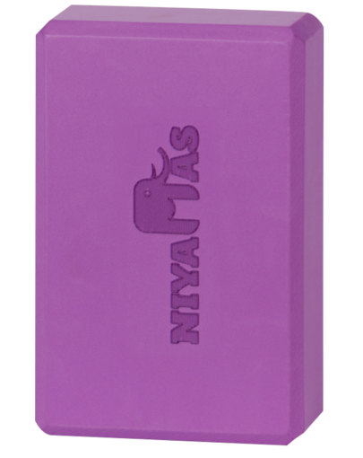 Niyamas Yoga Block Purple