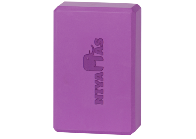 Niyamas Yoga Block Purple