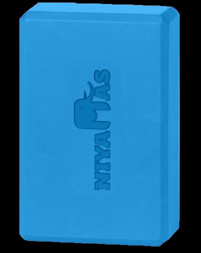 Τουβλάκι Γιόγκα Niyamas Yoga Block Blue